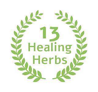 13 healing herbs
