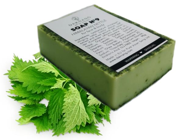 <b> Handcrafted Shea Butter Soap №9 • </b> Himalayan Nettle