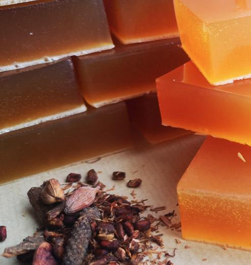 Cinnamon soap for skin