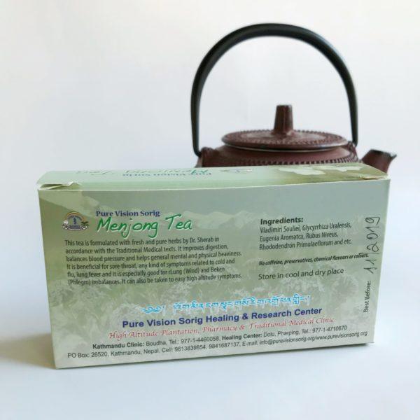 <b> Menjong Tea • © </b> Dr.Sherab Tenzin