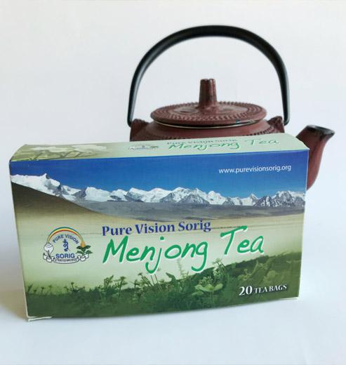 Menjong tea