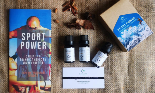 boost energy, endurance with sport power