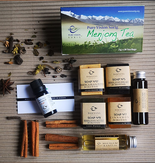 Daknang herbal gift set