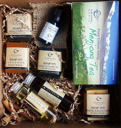 Herbal Beauty Gift Set Nr.1