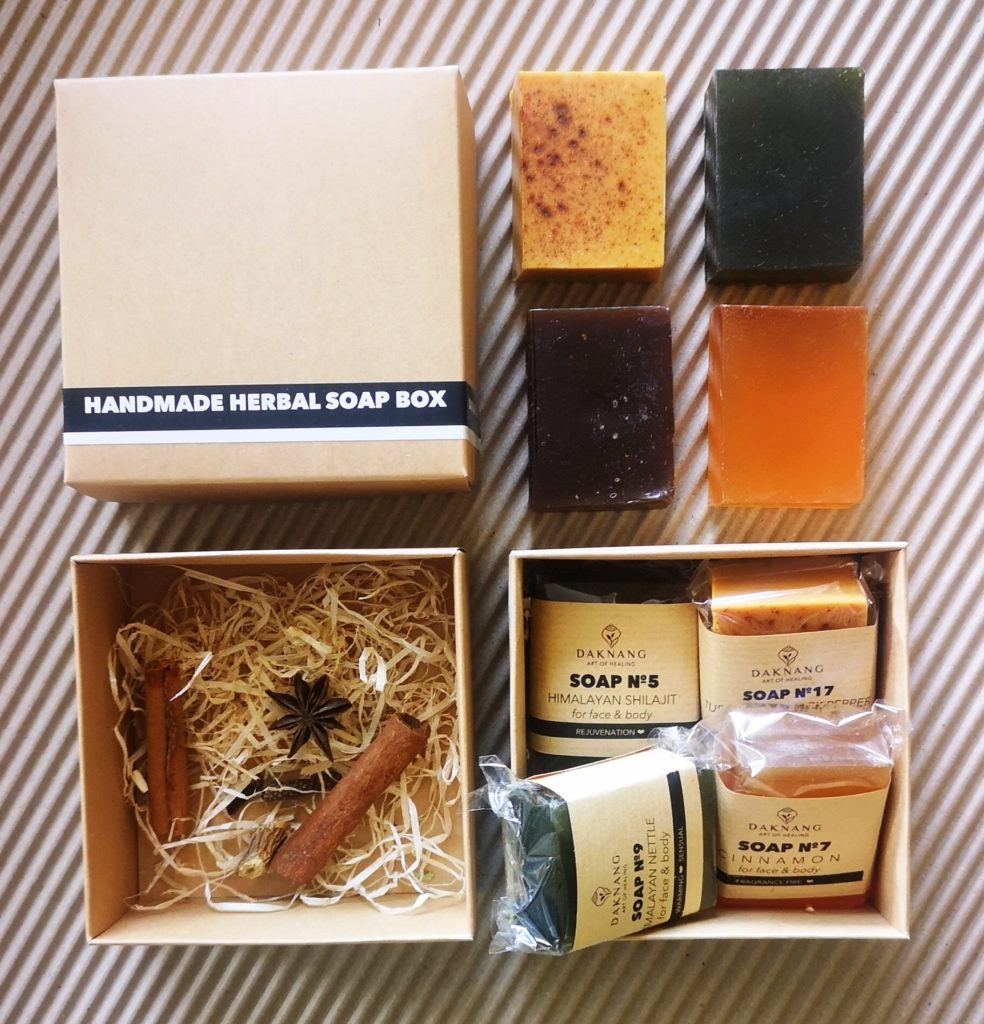 Handmade Herbal Soap Box