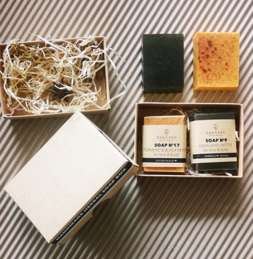 Set of Handmade Soap Turmeric & Black Pepper + Himalayan Nettle