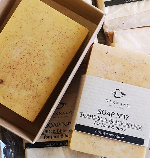 turmeric soap for skin