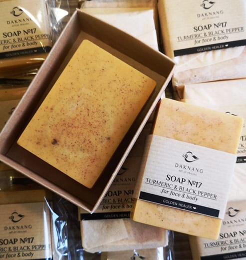 Set of Handmade Soap Turmeric & Black Pepper + Himalayan Shilajit