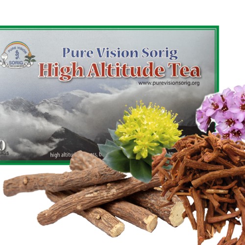 <b> High Altitude Tea • </b> © Dr.Sherab Tenzin