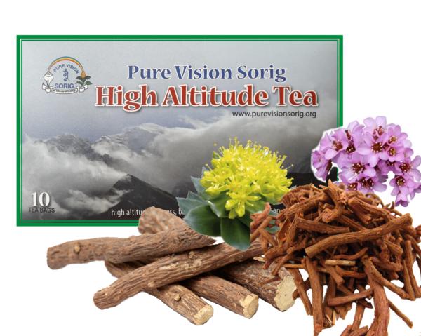 <b> High Altitude Tea • </b> © Dr.Sherab Tenzin