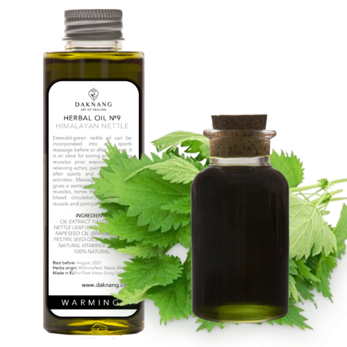 <b> Herbal Oil №9 • </b> Himalayan Nettle