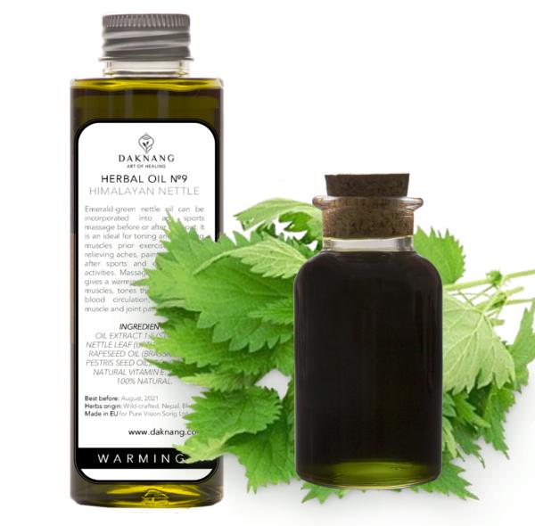 <b> Herbal Oil №9 • </b> Himalayan Nettle