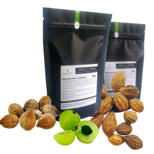 <b> Triphala Powder • </b> Rejuvenation Tea