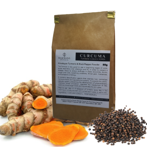 <b> Curcuma Powder • </b> Digestive Energy
