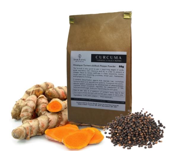 <b> Curcuma Powder • </b> Digestive Energy